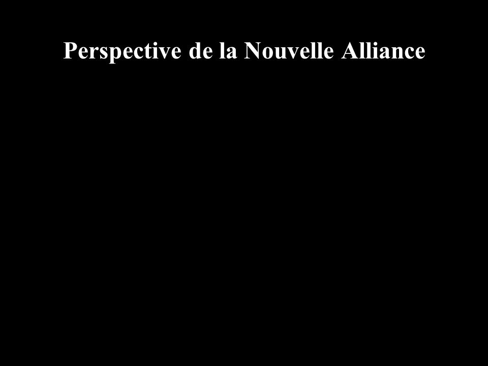 Perspective de la Nouvelle Alliance