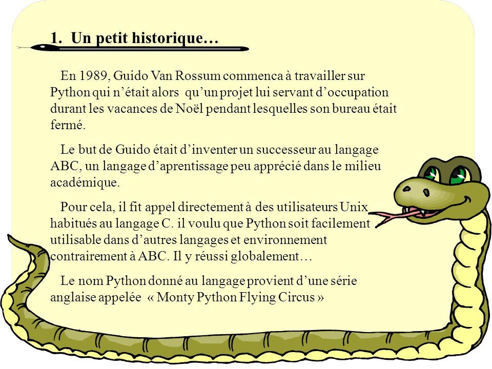Le module Pickle C est un module étonnant qui peut prendre presque n importe quel objet Python, et le convertir en une représentation sous forme de chaîne de caractères; ce processus s appelle pickling.