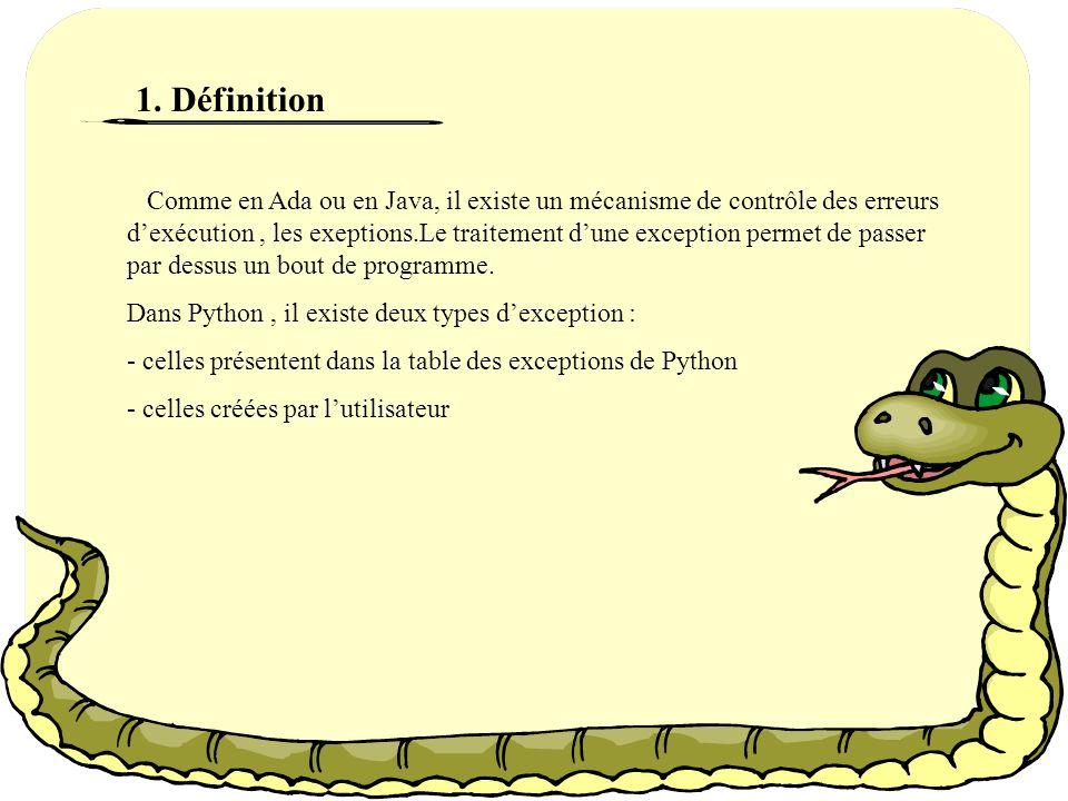 CHAPITRE VI : LES EXCEPTIONS
