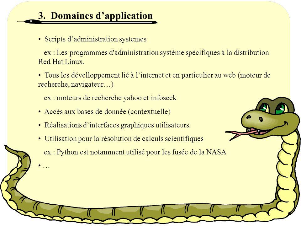 Peu derreurs… Tout comme Java ou Ada, Python porssède un systeme dexception qui facilite la gestion des erreurs.