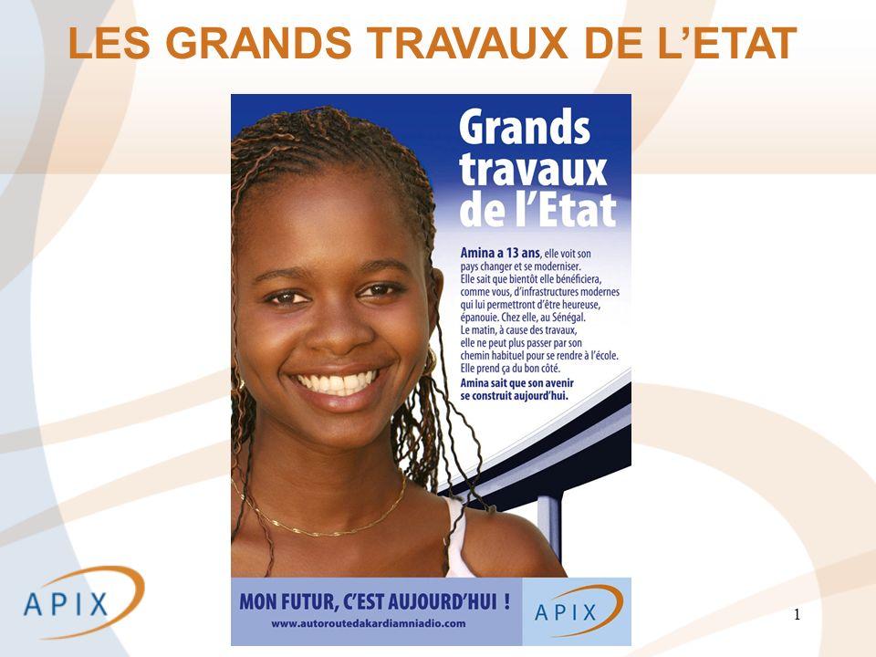 1 LES GRANDS TRAVAUX DE LETAT