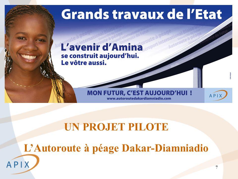 7 UN PROJET PILOTE LAutoroute à péage Dakar-Diamniadio