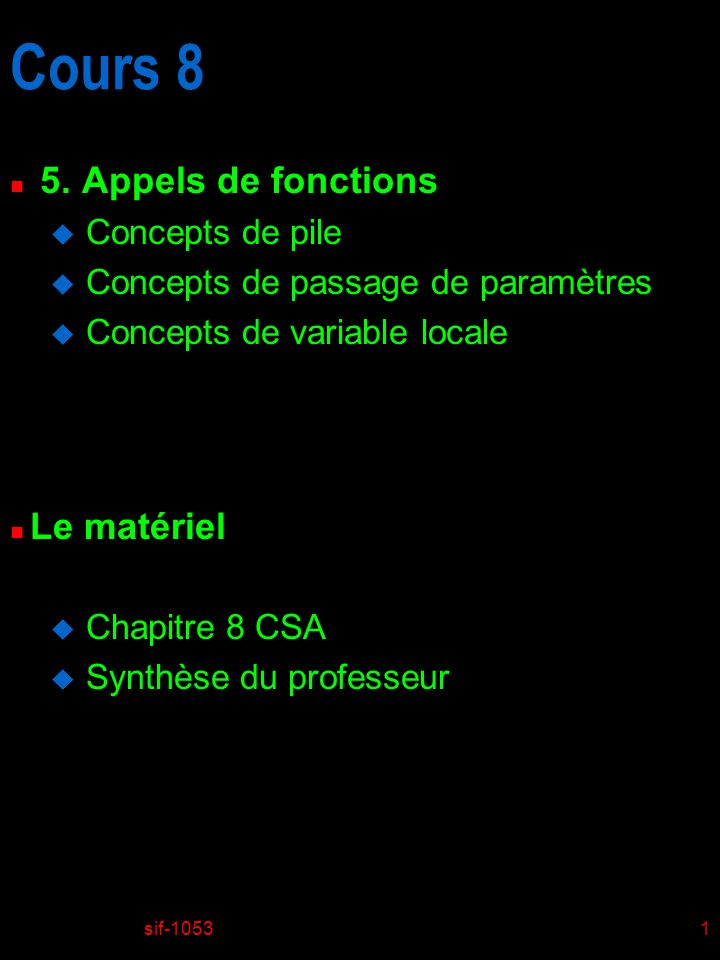 sif-10531 Cours 8 n 5.