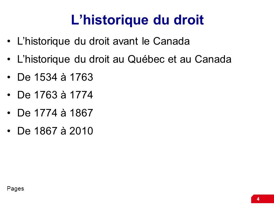 5 La loi sur le Canada de 1867 La Loi sur le Canada de 1867 ou Acte de lAmérique du Nord britannique AANB est la sources des pouvoirs des gouvernements fédéral et provinciaux car elle indique quels sont les sujets qui sont de compétence fédérale et ceux qui sont de compétence provinciale.