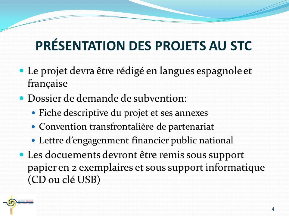 DÉLAIS DE PRESENTATION Le présent appel à projets est ouvert jusquà 2011 Objectif de 2 phases par an qui correspondent aux Comités de Programmati0n Première phase: du 4 avril au 30 juin 2008 Les dossiers devront être déposés au Secrétariat Technique Conjoint de lAutorité de Gestion 5