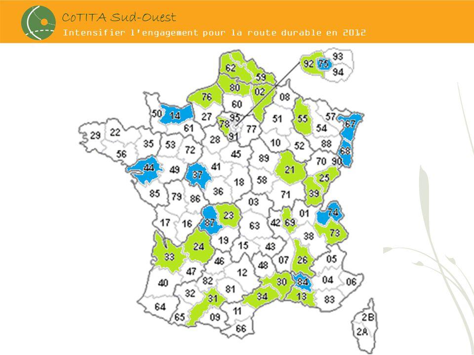 Intensifier l'engagement pour la route durable en 2012