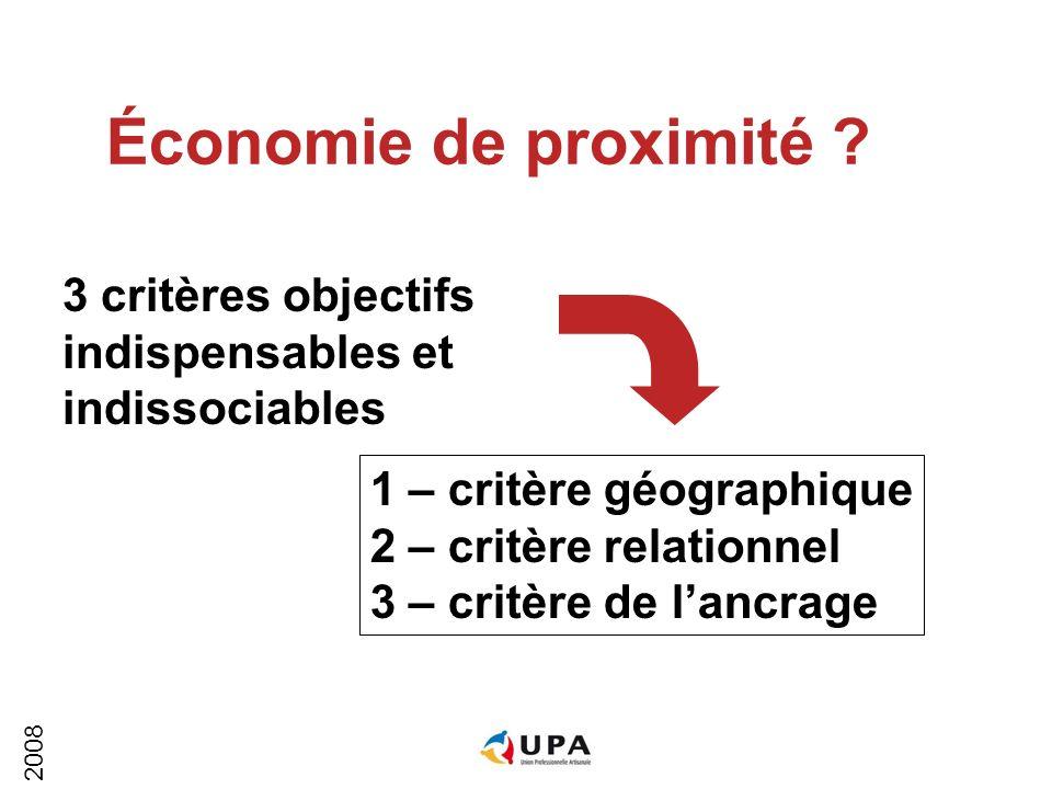 2008 Le défi de lattractivité 6 La France est toujours classée parmi les 4 pays les plus attractifs La qualité de son économie de proximité en est la principale raison