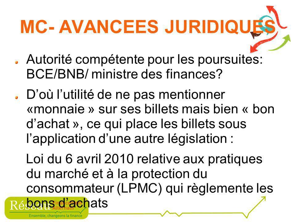 Autorité compétente pour les poursuites: BCE/BNB/ ministre des finances.