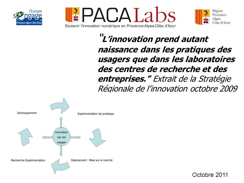 Linnovation prend autant naissance dans les pratiques des usagers que dans les laboratoires des centres de recherche et des entreprises.