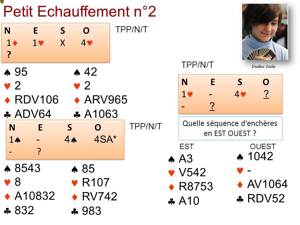 TPP/N/T Petit Echauffement n°2 N E S O 1 1 X 4 .N E S O 1 1 X 4 .