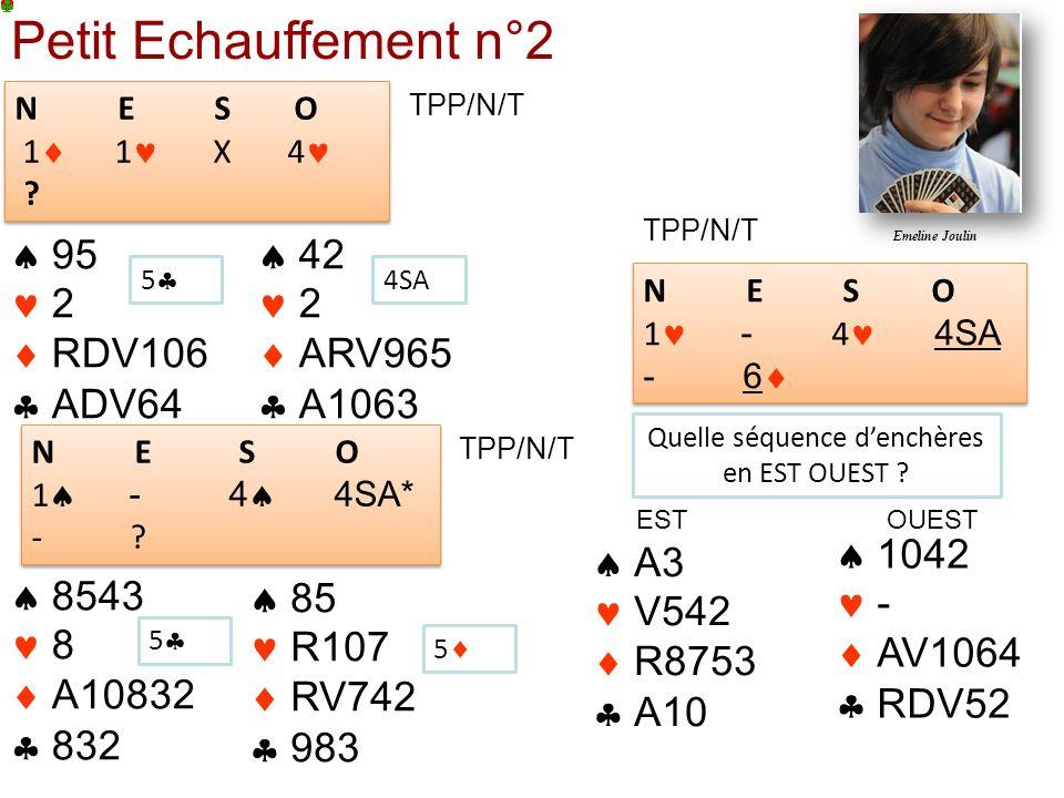 Petit Echauffement n°2 N E S O 1 1 X 4 .N E S O 1 1 X 4 .