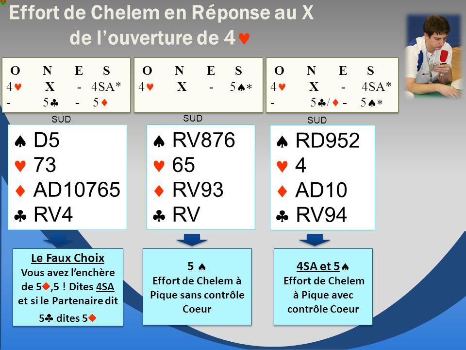 D5 73 AD10765 RV4 O N E S 4 X - 4SA* - 5 - 5 O N E S 4 X - 4SA* - 5 - 5 RV876 65 RV93 RV Le Faux Choix Vous avez lenchère de 5,5 .