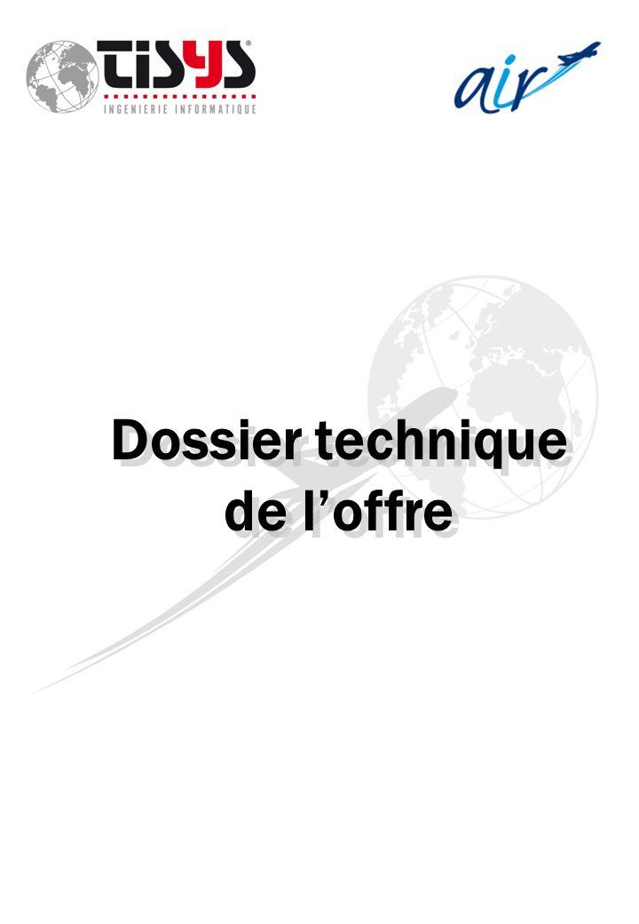 Dossier technique de loffre