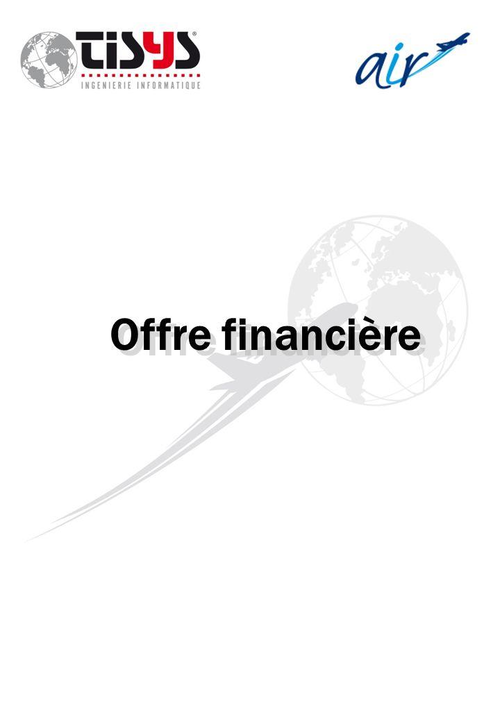 Offre financière