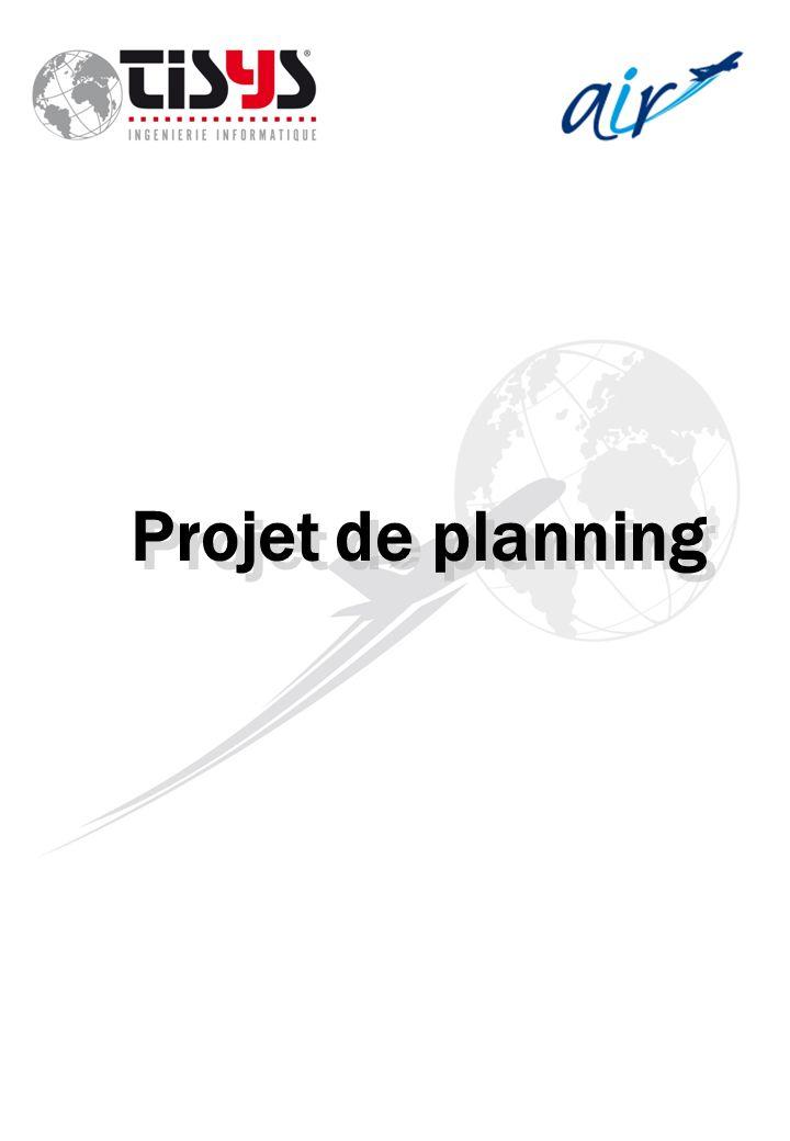 Projet de planning