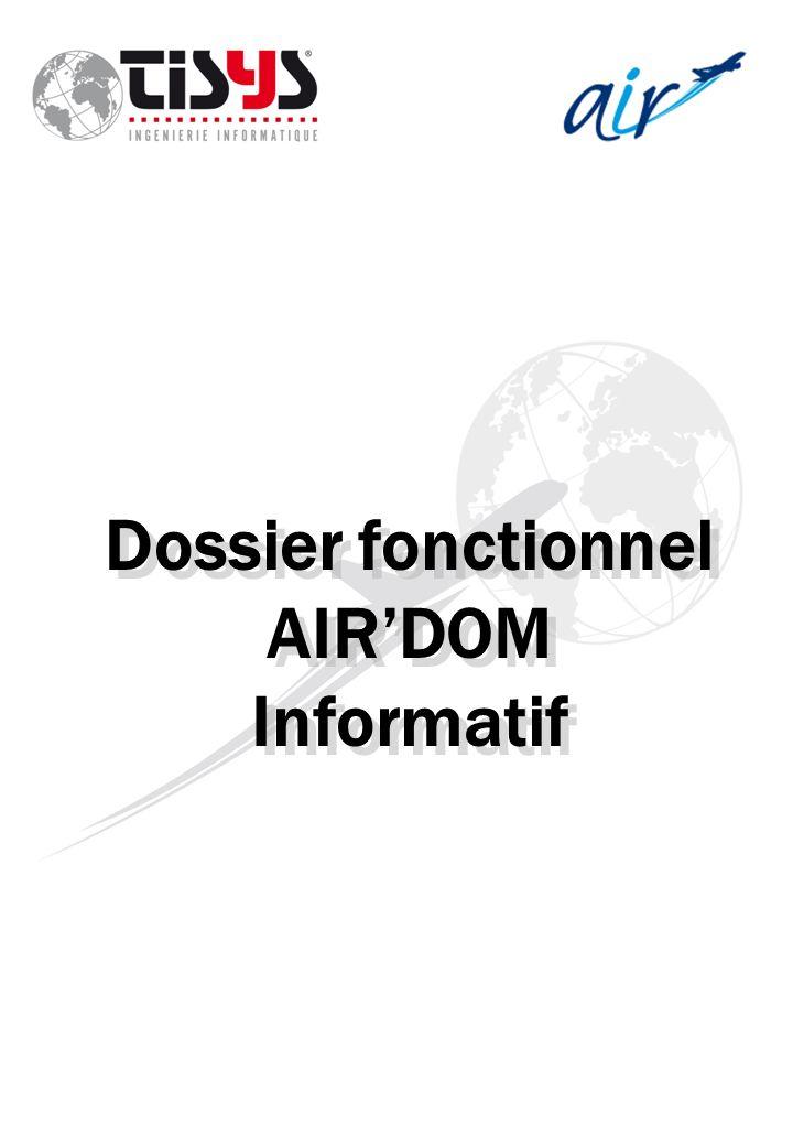 Dossier fonctionnel AIRDOM Informatif