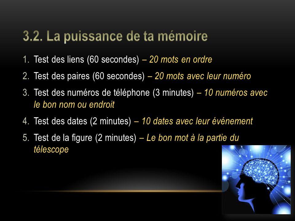 1.Lassociation visuelle Jumeler une information à retenir avec une image réelle ou fictive.