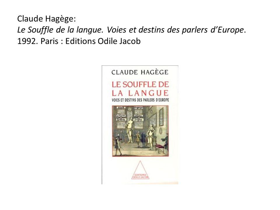 LEurope des langues a un destin qui lui est propre, et ne saurait sinspirer de modèles étrangers.