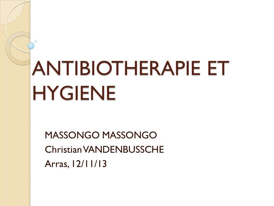 Hygiène 2 Vous demandez à la structure de décoloniser Jeanne en prescrivant un antibiotique par voie orale .