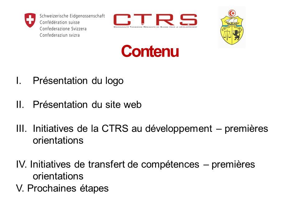 Contenu I.Présentation du logo II. Présentation du site web III.