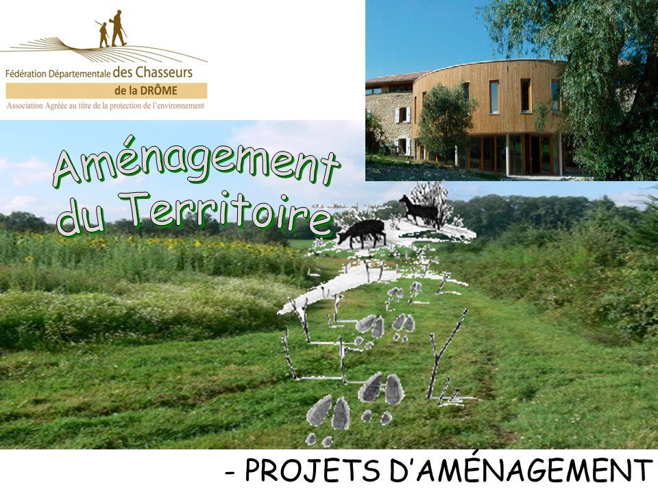 - TRAVAUX RÉALISÉS Participation: 65 bénévoles juin à octobre 2011 500 heures 2,7 Km Délimitation du « Domaine de notre dame des oullières » 90 ha