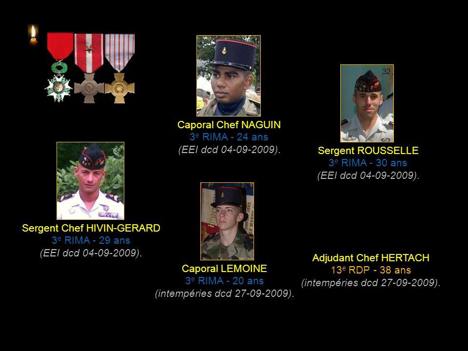 Commandant SONZOGNI 35 e RAP - 45 ans (EEI dcd 11-02-2009).
