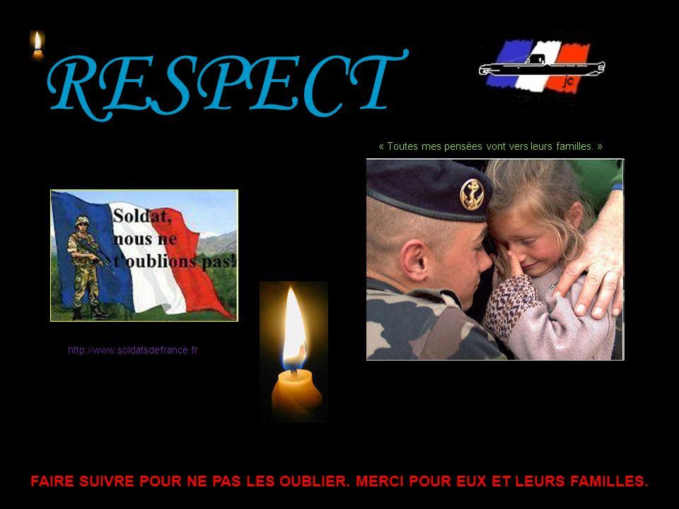 « Fermez le ban » 45 Commandant DUPIN 2 e REG - 34 ans (combat dcd 17-12-2010).
