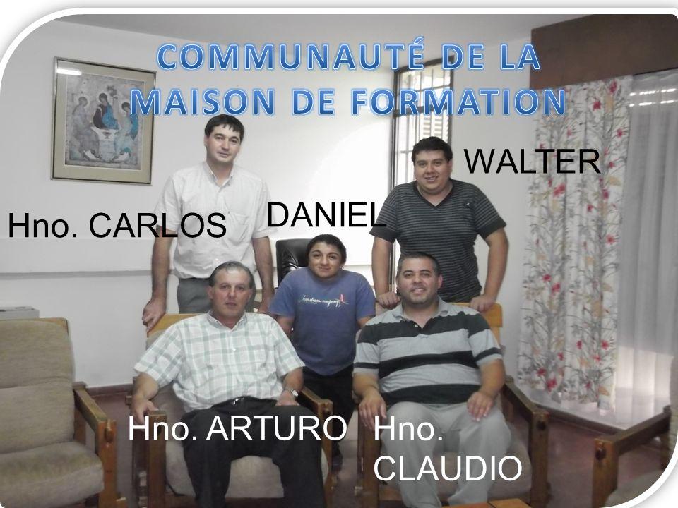 Bonjour, je suis frère Carlos et depuis le début de cette année (2013) j accompagne deux jeunes qui sont dans notre Maison de Formation à Lujan de Cuyo.
