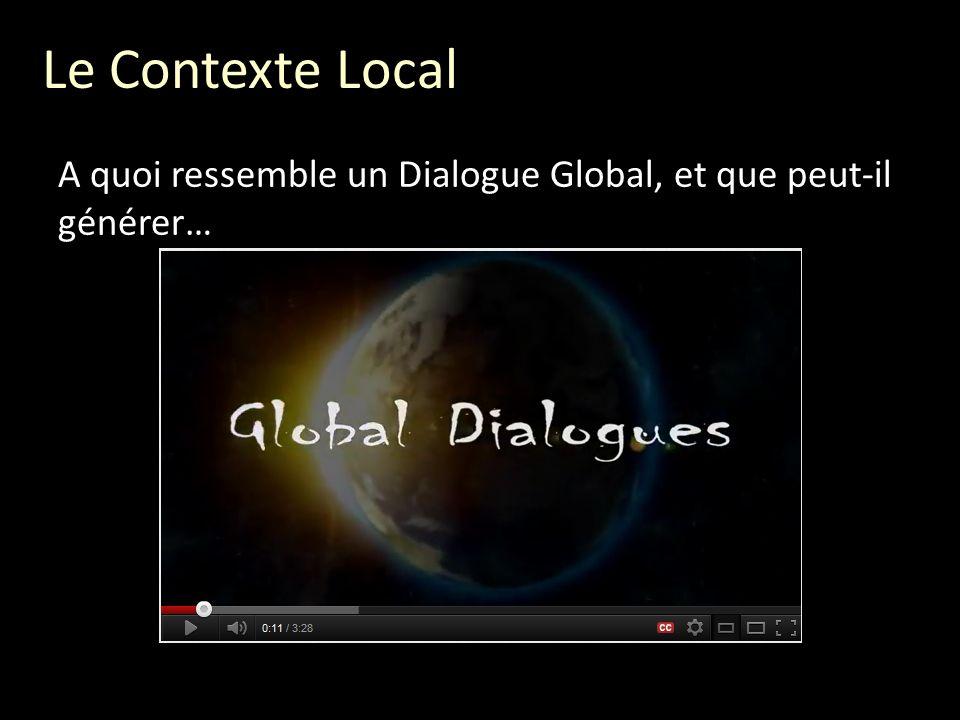 Comment cela a-t-il commencé… En novembre 2011, quelques personnes se réunirent pour explorer certaines questions: Comment pouvons-nous donner léveil à un sens global de responsabilisation, en ce qui concerne le futur que nous voulons.