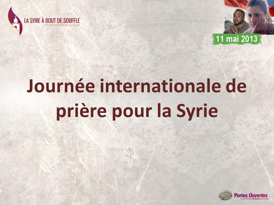 Journée internationale de prière pour la Syrie