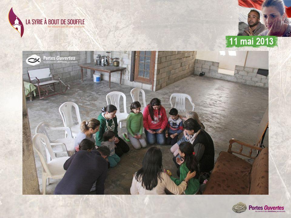 Pour les chrétiens de Syrie Pour que les chrétiens restent en Syrie.