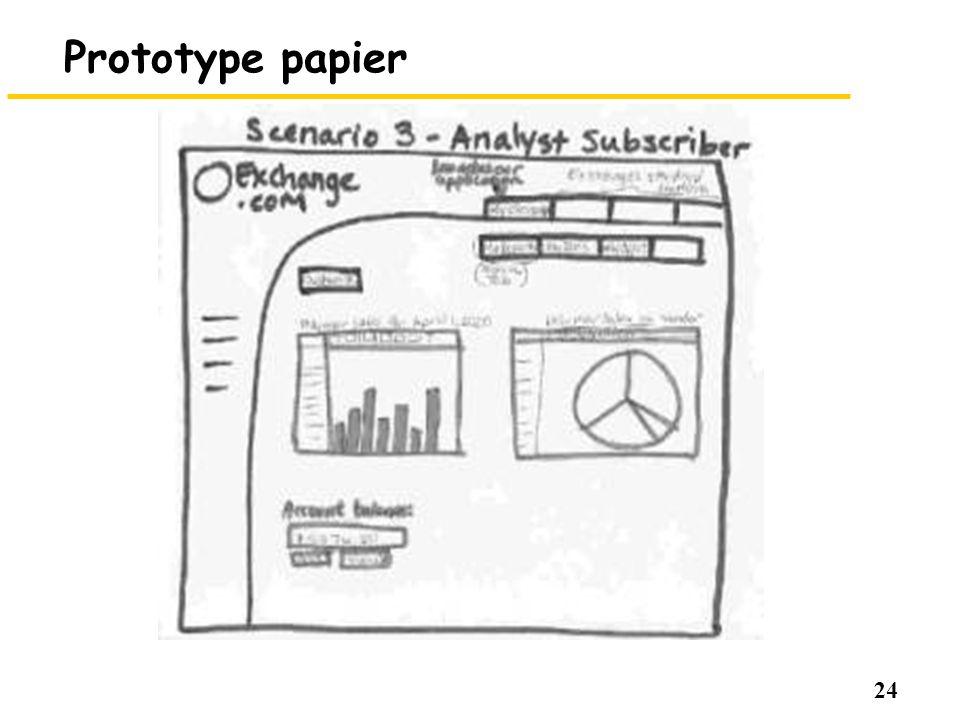 24 Prototype papier