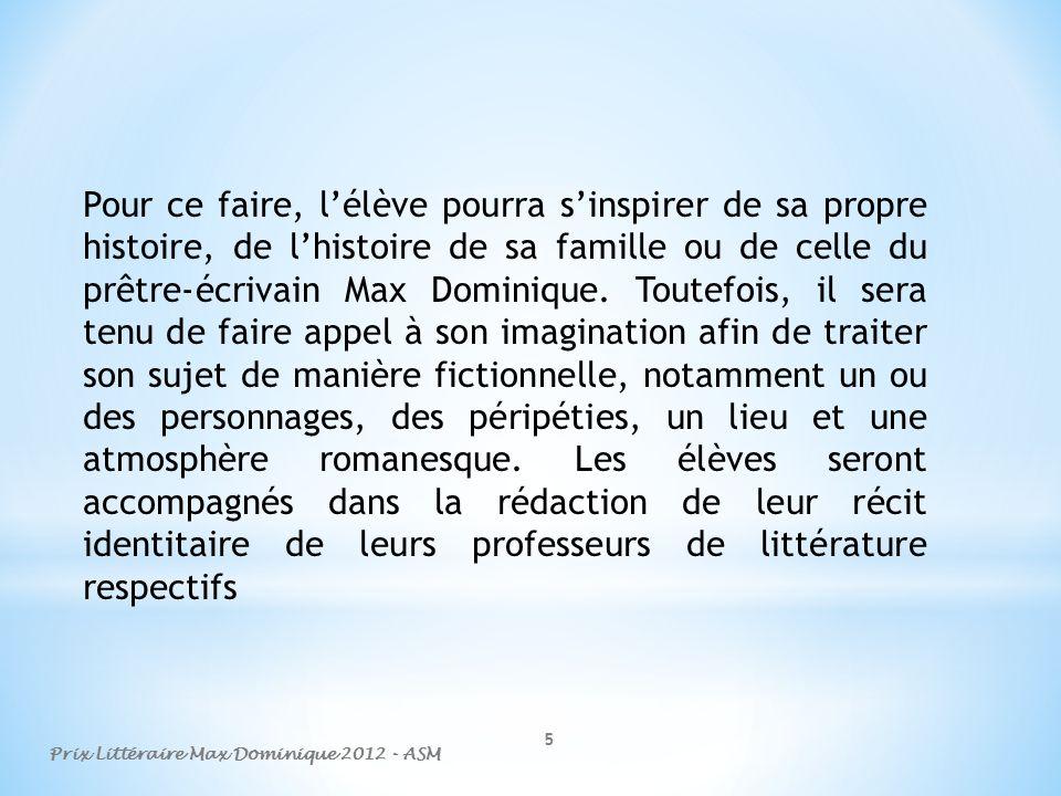 6 1.1-Objectifs LAlliance Saint-Martial poursuit différents objectifs en organisant ce prix : -Récompenser et promouvoir le talent de création littéraire.