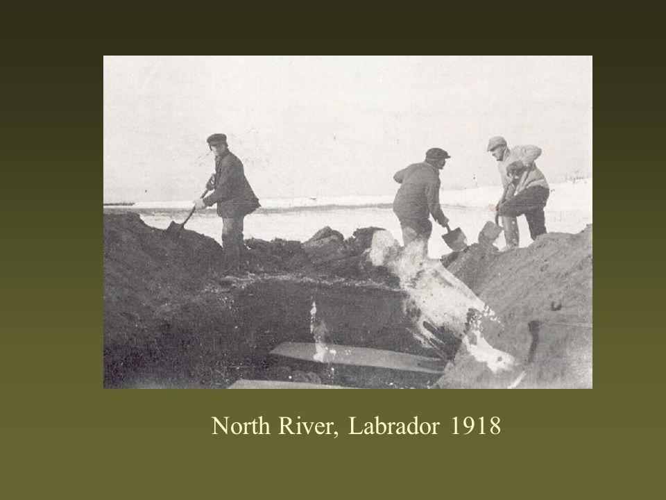 North River, Labrador 1918