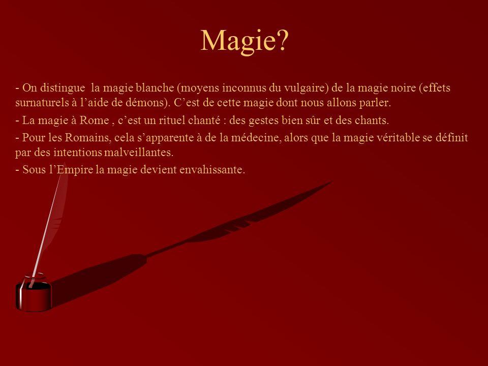 Très Formule de magie noire - Le blog de magie CQ95