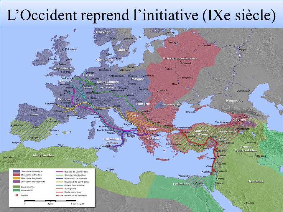 LOccident reprend linitiative (IXe siècle)