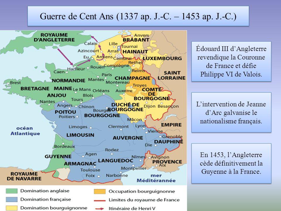 Guerre de Cent Ans (1337 ap.J.-C. – 1453 ap.