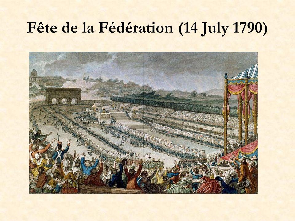 Fête de la Fédération (14 July 1790)