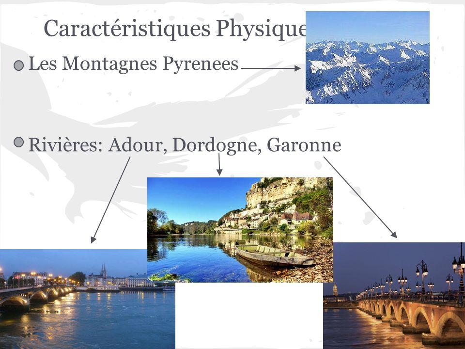 Les Montagnes Pyrenees Rivières: Adour, Dordogne, Garonne Caractéristiques Physique