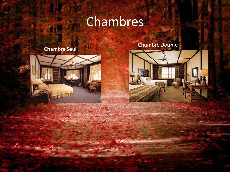 Chambres Chambre Seul Chambre Double