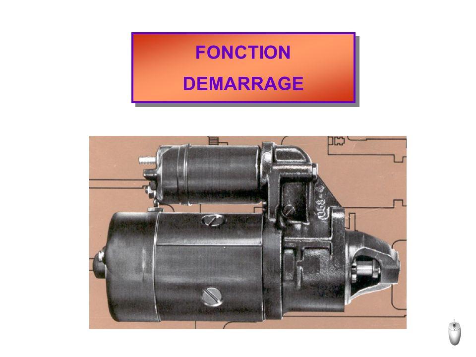 FONCTION DEMARRAGE