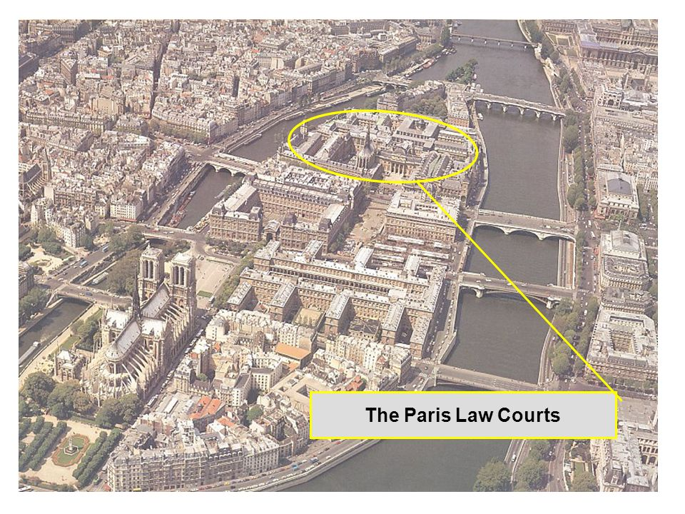 The Paris Law Courts