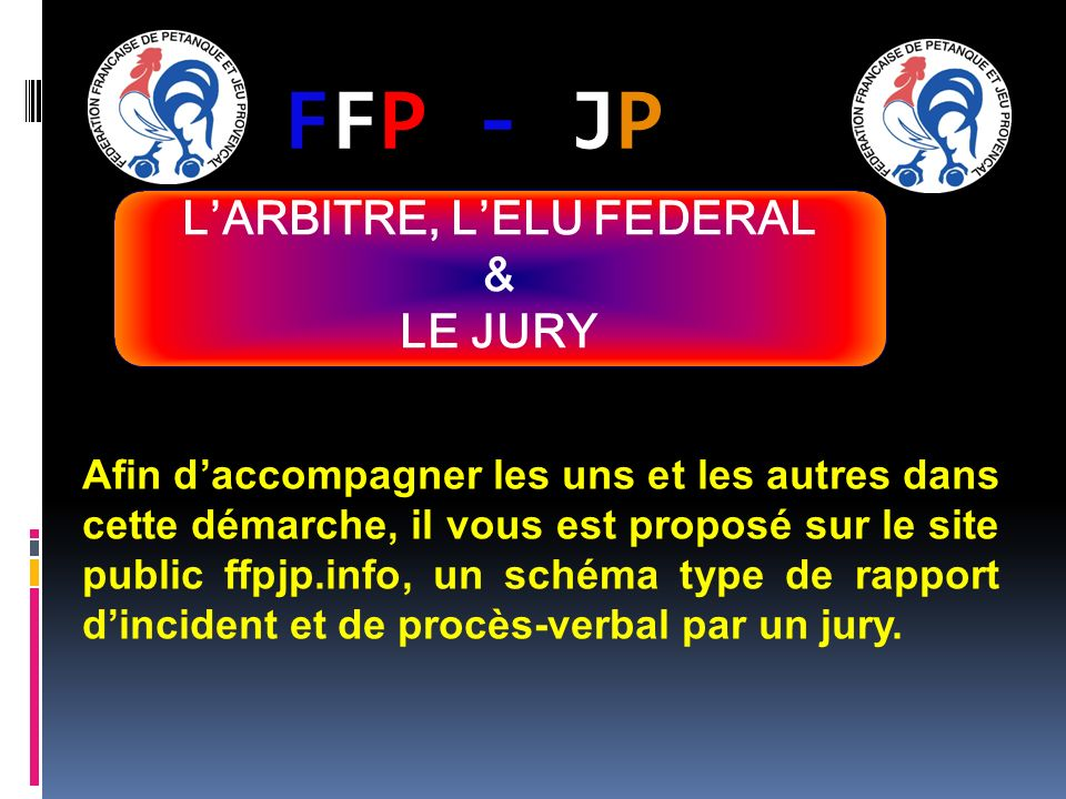 FFP - JPFFP - JP Afin daccompagner les uns et les autres dans cette démarche, il vous est proposé sur le site public ffpjp.info, un schéma type de rap
