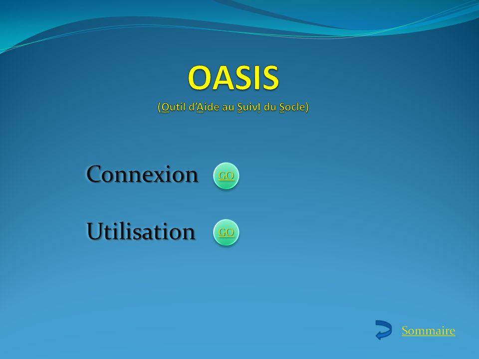 Utilisation dOASIS