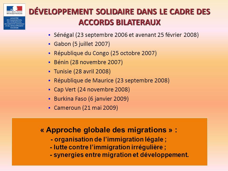 Sénégal (23 septembre 2006 et avenant 25 février 2008) Gabon (5 juillet 2007) République du Congo (25 octobre 2007) Bénin (28 novembre 2007) Tunisie (