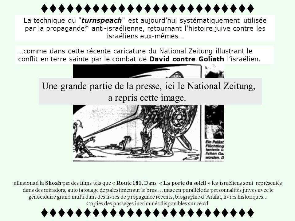 …toujours fidèle au poste, on retrouve encore le journal pro nazi-allemand National Zeitung Cette fois-ci il nutilise plus le mot holocauste mais géno