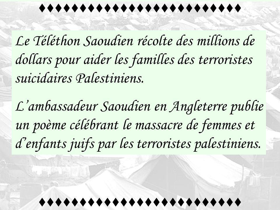 Certains pays de la ligue arabe soutiennent financièrement et médiatiquement lélimination physique des israéliens au moyen dun terrorisme assassin. tt