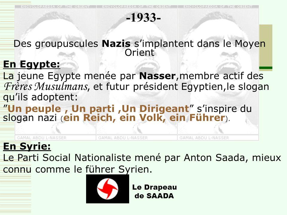 -1931- …il crée ensuite un conseil musulman international