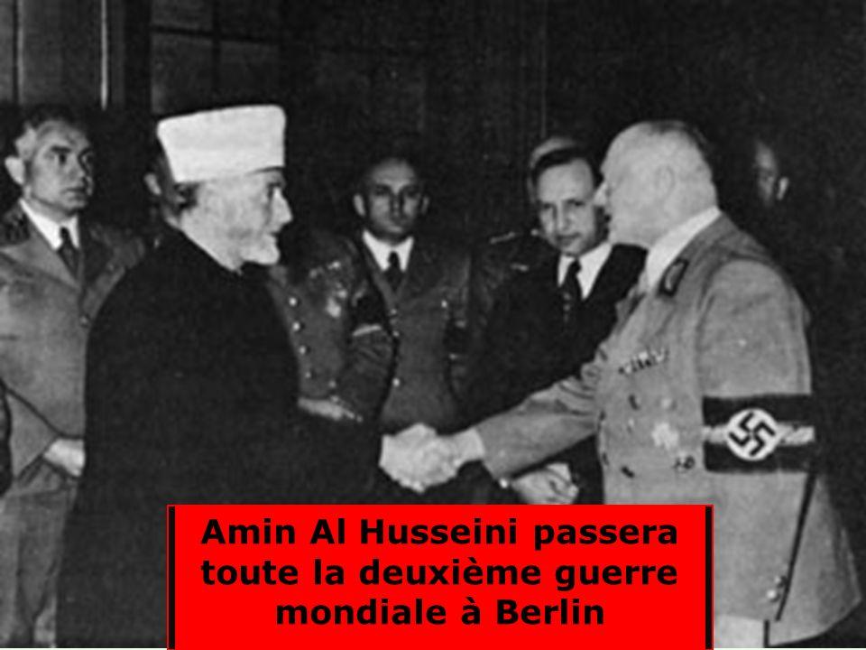 ttttttttttttttttttttttttt Avec laide du grand mufti Coups détat pro-nazi en Irak Aussitôt la population juive est attaquée : 600 morts. Beaucoup de ju