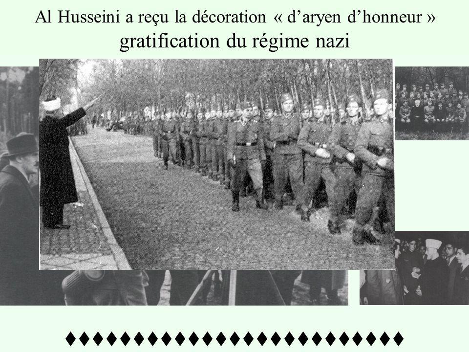 ttttttttttttttttttttttttt Troupes musulmanes nazies pendant la traditionnelle prière musulmane –1943- Amin Al Husseini dans un meeting nazi à Berlin d